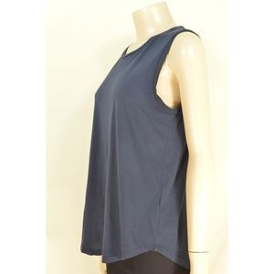 Ag Adriano Goldschmied Tops - AG Adriano Goldschmied tank top SZ M navy blue 100